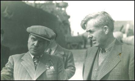 Henry Wallace şi Ivan Nikiskov