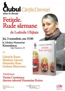 Invitatie Ludmila Ulitkaia