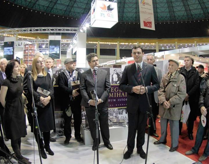Lansare Regele Mihai. Album Istoric_Editura Litera