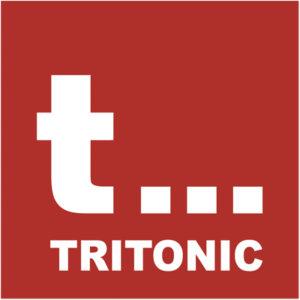 logo tritonic patrat