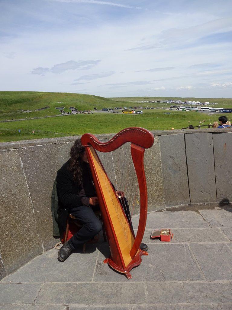 Irish harph