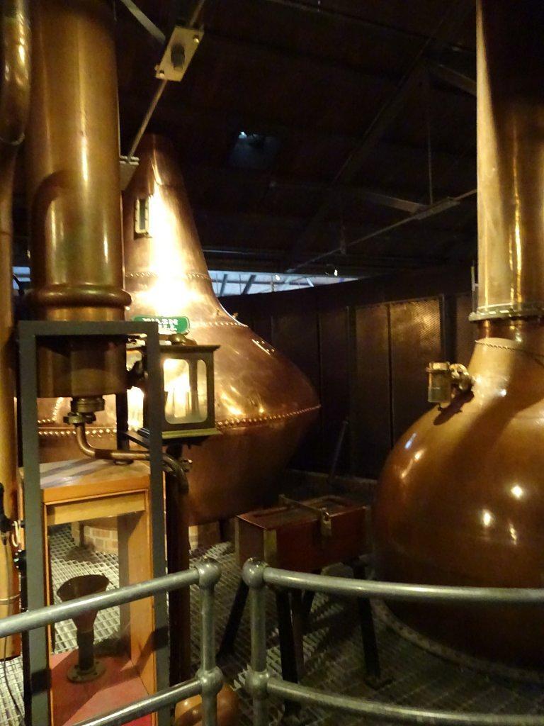 procesul de fabricare a whiskey-ul la Jamson distilery