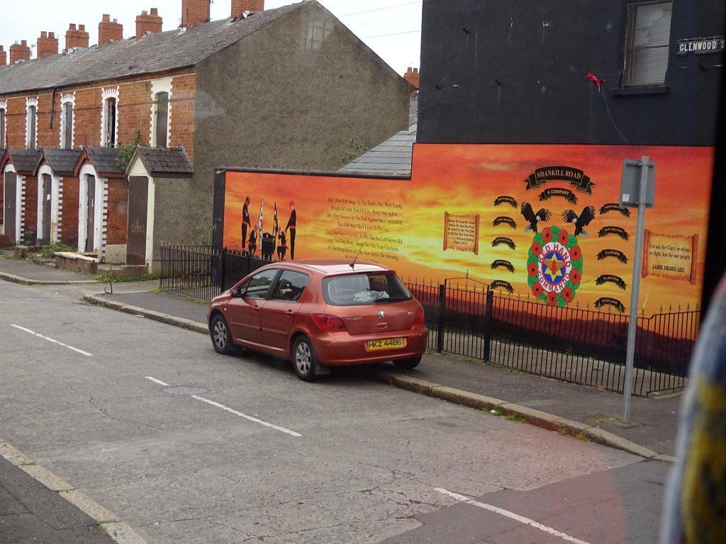 protestant area in Belfast