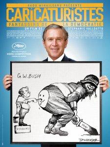 Caricaturistes - fantassins de la democratie_George Bush