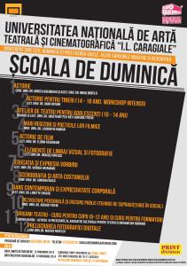 SCOALA DE DUMINICA afis toamna 2014
