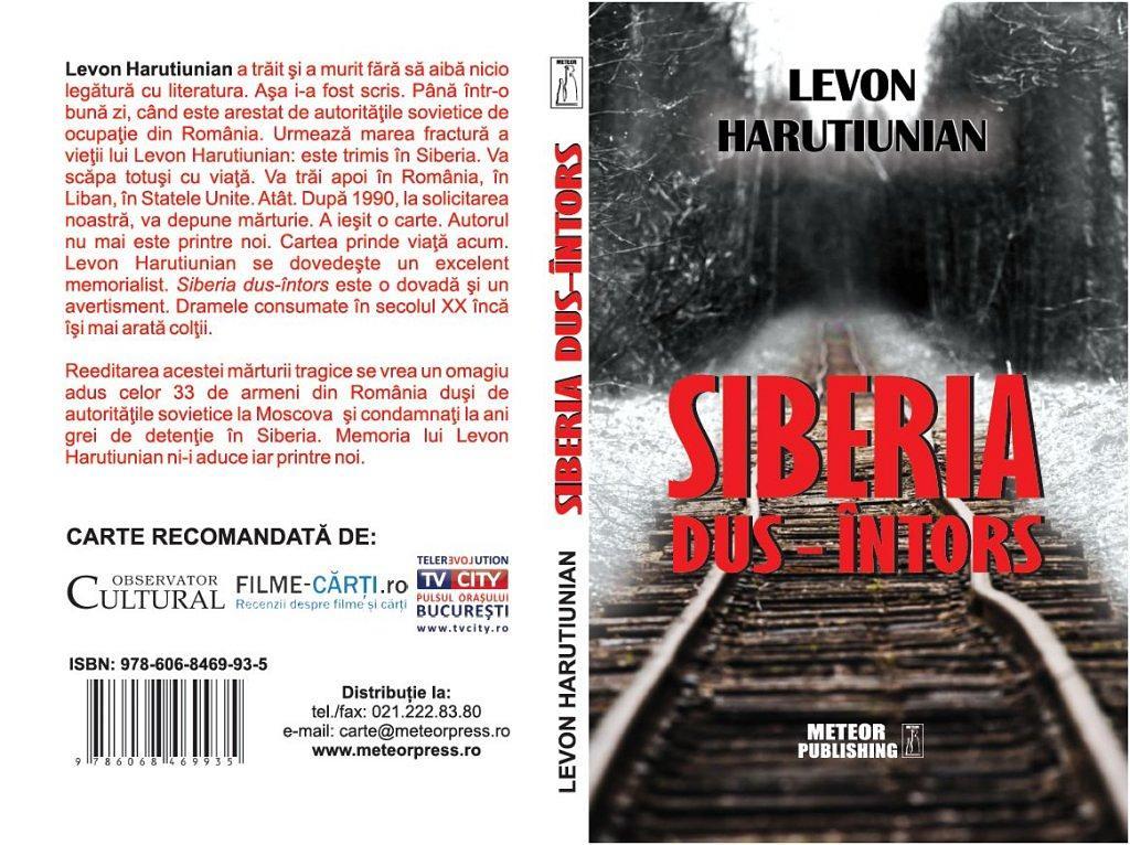 Siberia dus intors Coperta desfasurata