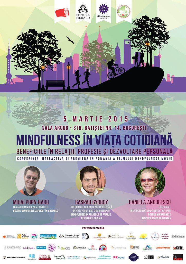 Mindfulness In Viata Cotidiana 5 Martie 2015 Sala Arcub
