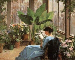 The Conservatory (1883). Frances (Jones) Bannerman (Canadian, 1855-1944)
