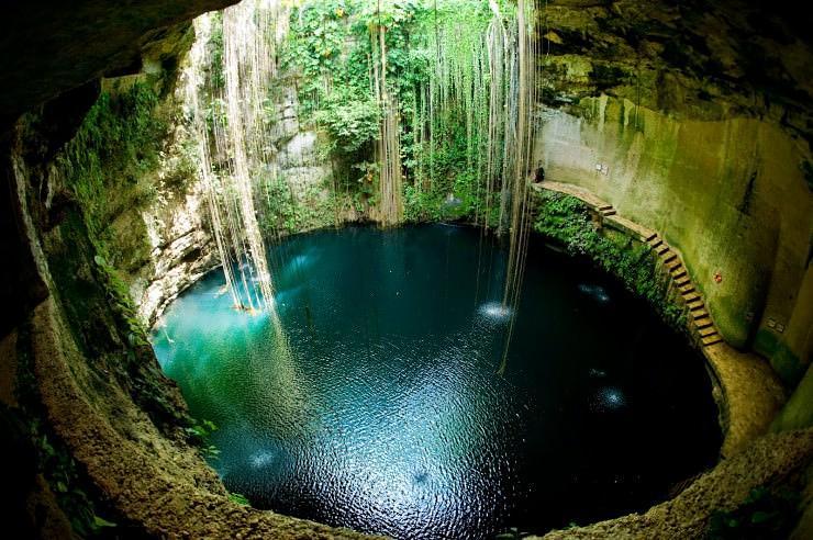 Sacred Cenote Mexic