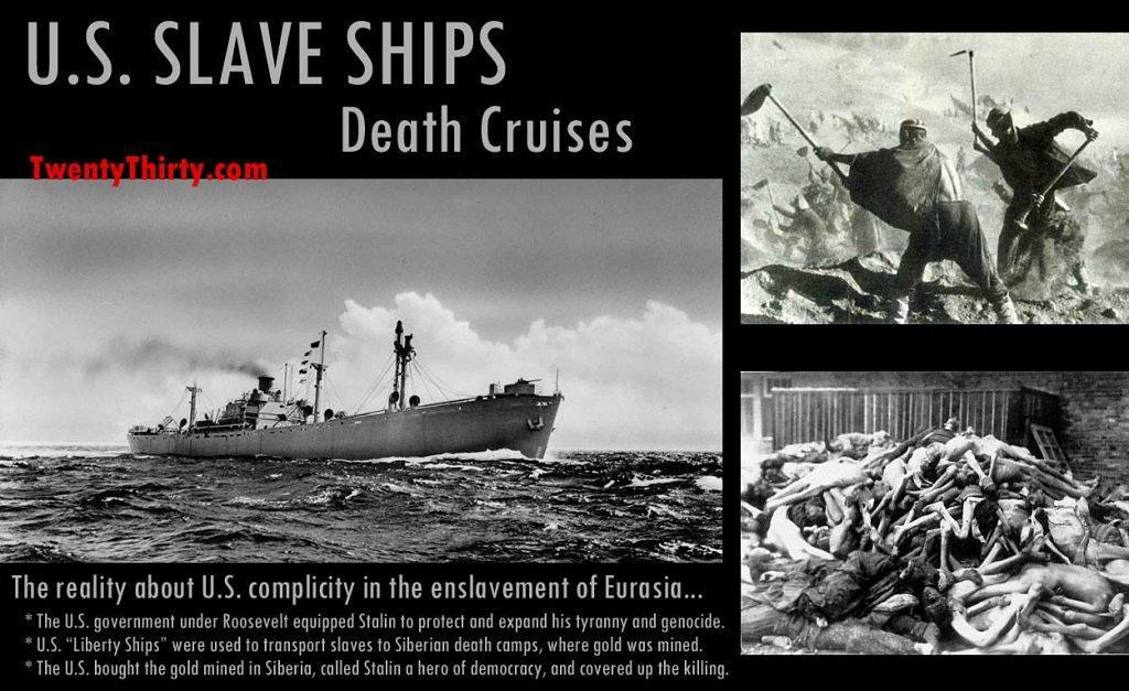 Stalin's Slave Ships
