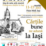 Librex Iași 2015, 11 – 15 martie 2015, Palas Mall, Iaşi, România