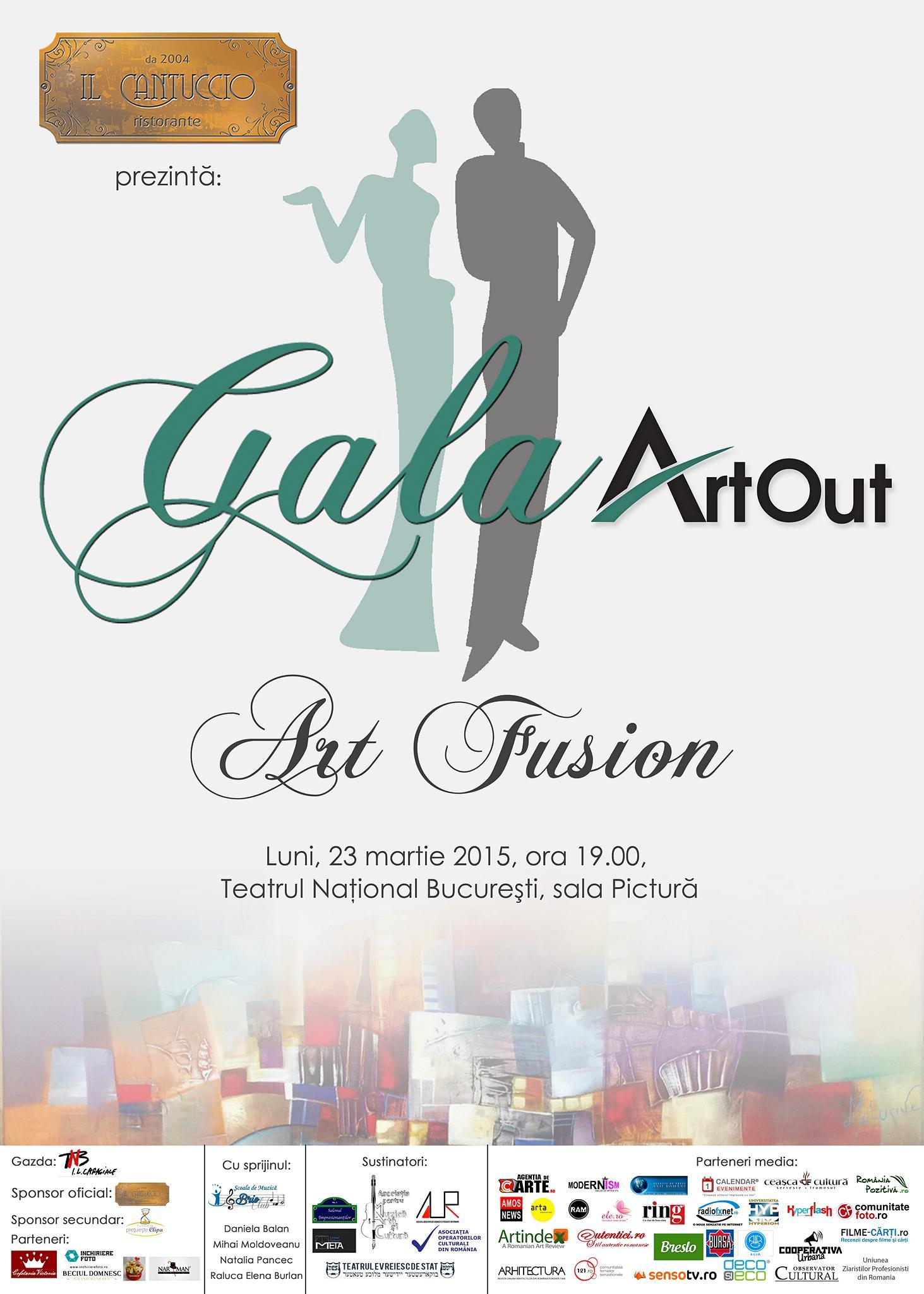 gala art out 2015 sincretism varietate și armonie în arta