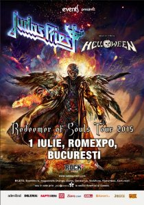 Poster Judas Priest & Helloween 2015