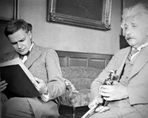 Eduard și Albert Einstein