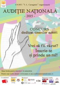Afis_Auditie_Nationala_2015 - pentru selectie