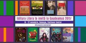 Editura Litera la Gaudeamus 2015