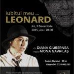 Reprezentații Teatrul Arte dell Anima, săptămâna 1-6 decembrie 2015