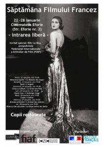 Afis Saptamana Filmului Francez