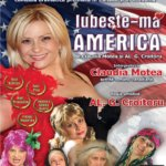 Teatrul Arte dell' Anima în februarie 2016: Iubeşte-mă… AMERICA!, de Claudia Motea & AL.G. Croitoru