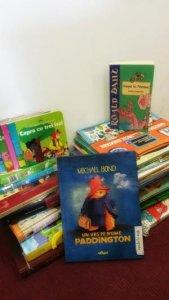 Câteva cărți din donația British Council