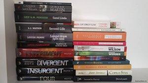 Câteva cărți din donația Laurei Câlțea