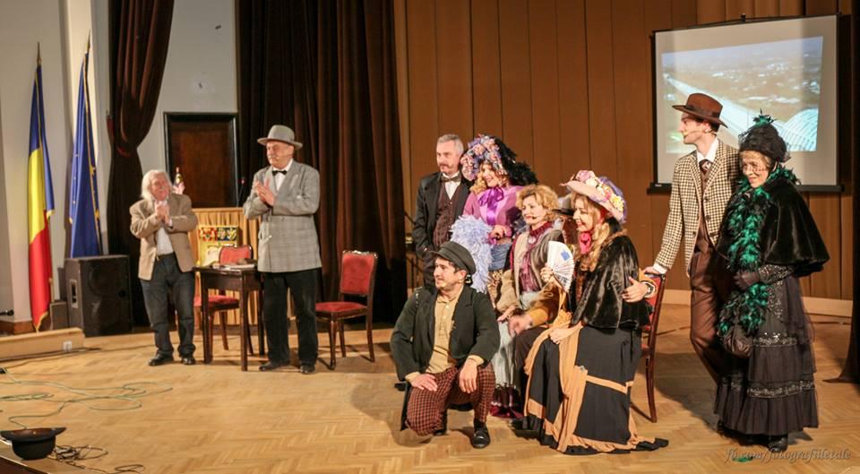 Fotografia a fost preluată de pe Facebook și reprezintă proprietatea Teatrului Evreiesc de Stat
