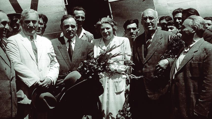 Inapoierea_delegatiei_de_la_Moscova_27_iunie_1947