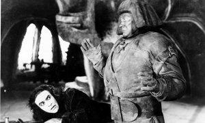 Der Golem film still, 1920