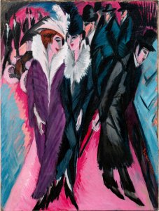 Ernst Ludwig Kirchner - Street, Berlin, 1913