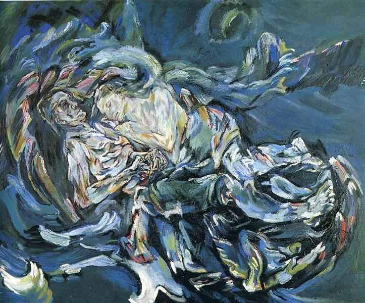 Oskar Kokoschka – The Bride of the Wind, 1914