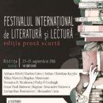 Festivalul Internațional de Literatură și Lectură (FILL). Ediția Proză Scurtă